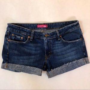 Levi's  524 Denim Cutoff Shorts Size 11